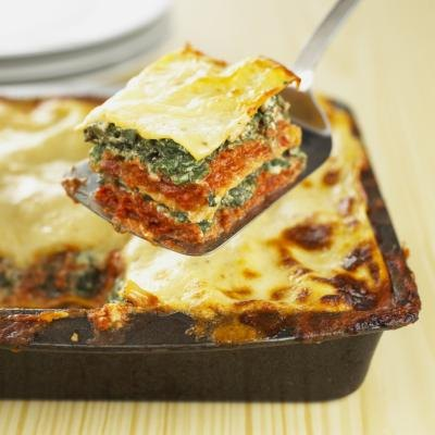 Vegetable Lasagna Nutritional Facts