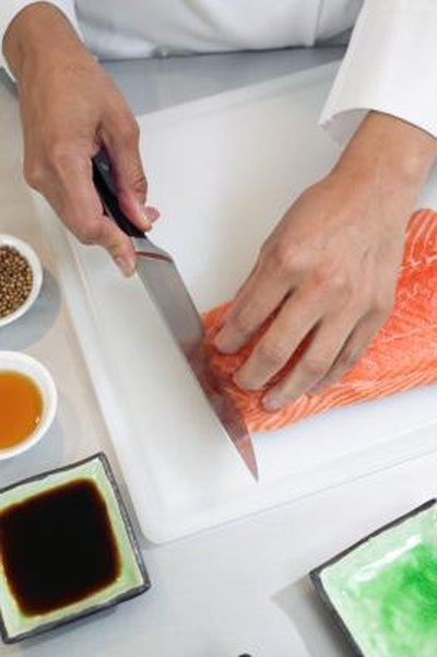 How to Cook a Salmon Fillet for Sushi