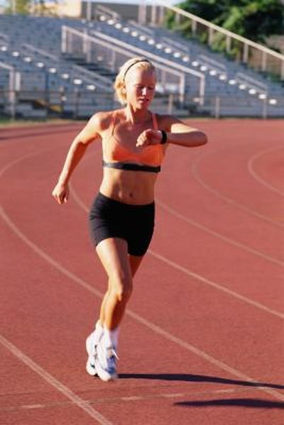 What Should an Athlete's Heart Rate Be During Heavy Exercise?