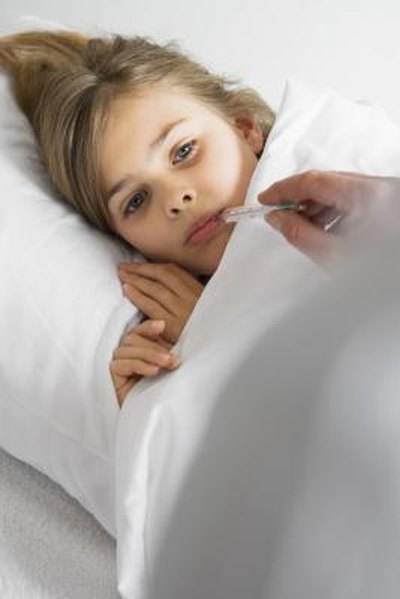 High Fever and a Loss of Appetite in Children