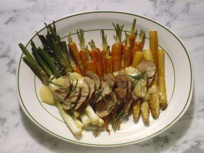 How to Cook a Pork Roast With Vegetables in the Pressure-Cooker