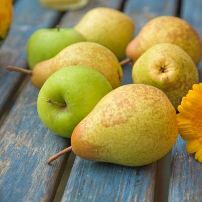 Nutritional Content of Pears vs. Apples