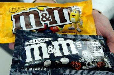 How Many Calories Are in 1 M&M?