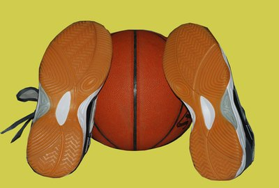 Basketball shoes are designed to support the foot in places other shoes do not.