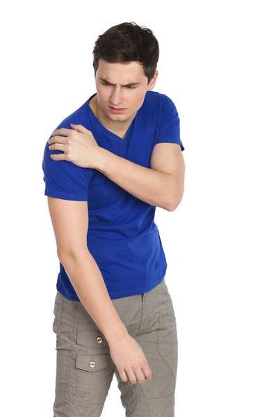 Shoulder pain can be from muscles, nerves, or the joint itself.