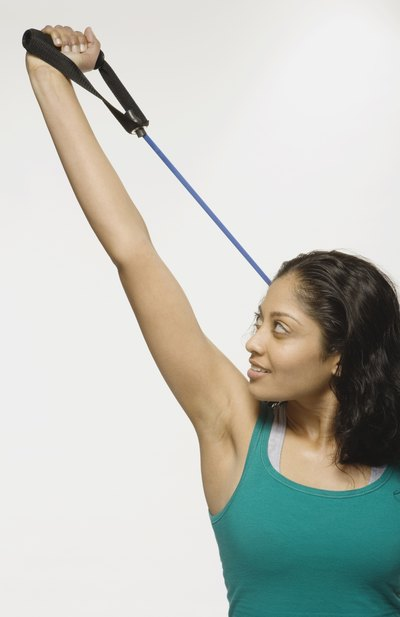 Resistance Band Exercises for Triceps