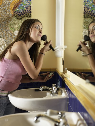 Do Girls Spend a Lot of Time in Bathroom During Puberty?