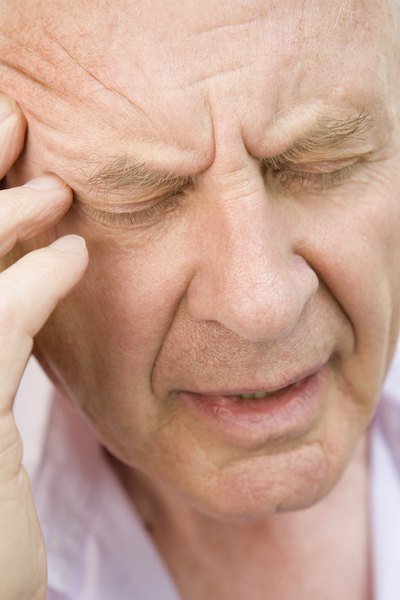Headache pain fades over time.