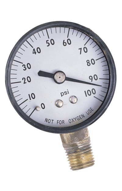 Use the pressure gauge after you inflate the ball.