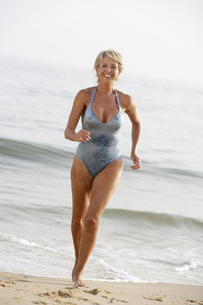 The Best Type of Bathing Suit for a Petite Woman in Her Fifties