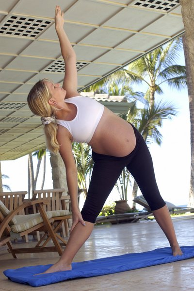 Pregnancy-safe exercises such as walking and yoga can help relieve nasal congestion.