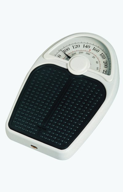 Children can use a basic scale to weigh heavier items.