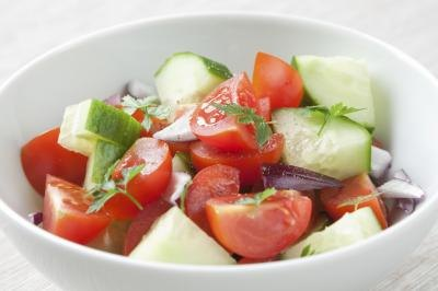 Nutritional Value of Tomatoes & Cucumbers