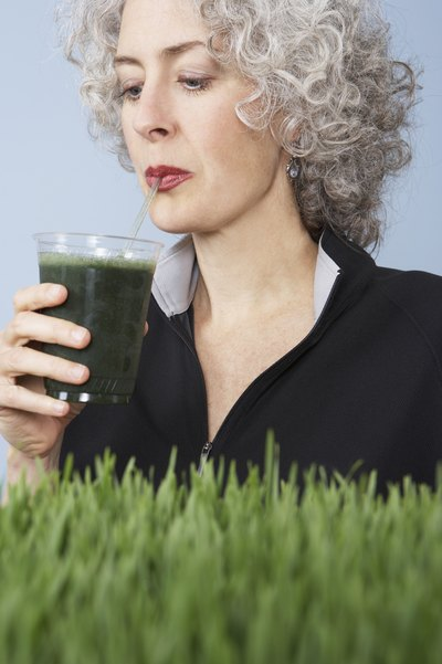 Wheatgrass is rich in chlorophyll, a mighty warrior against skin aging.