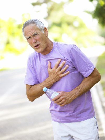 Symptoms of Chest Pressure, Tingling and Throbbing