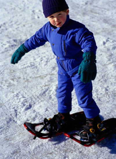 Snowshoe Activities for Kids
