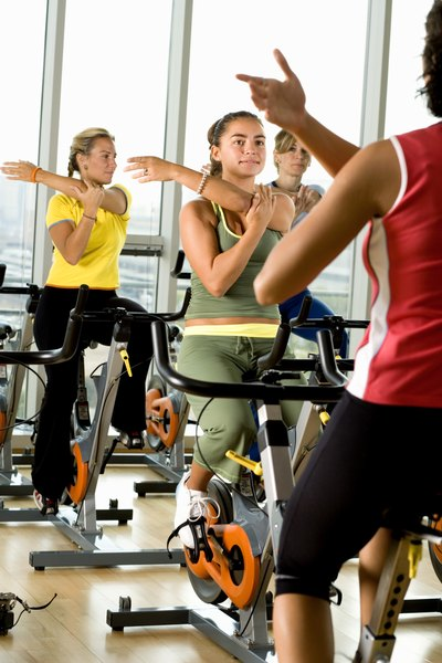 Work up a sweat on a bicycle or other cardio exercises for 30 to 60 minutes five days a week.