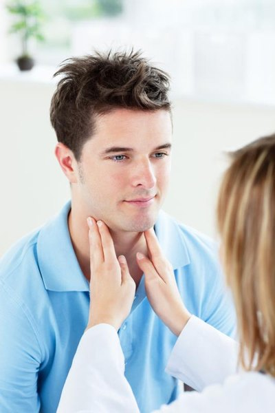 Causes of Swollen Throat Glands