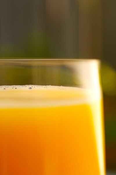 Can Blood Pressure Medication Be Taken With Orange Juice?