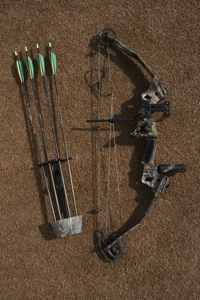 The pulley system used in compound bows gives archers more time to aim once the bow is drawn.