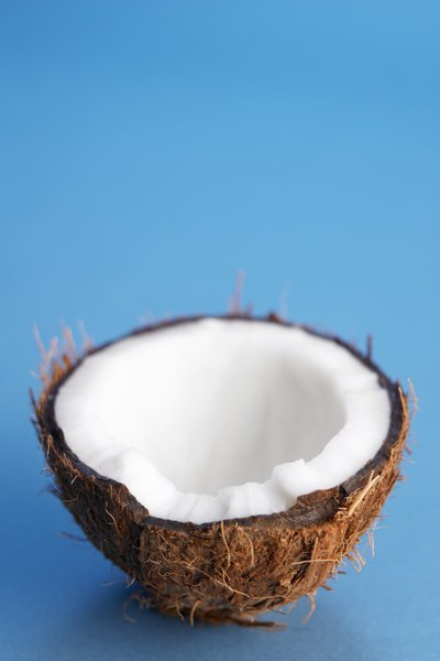 Coconut oil contains Vitamins E and K.