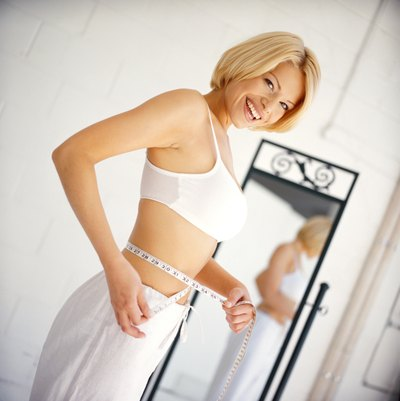 Weight loss may occur naturally.
