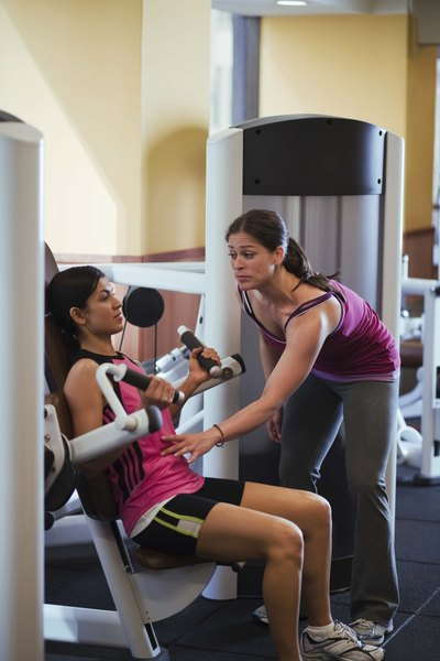 A competent personal trainer can help you meet your goals.