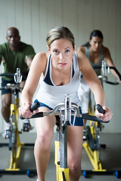 Low-impact biking burns fat fast.