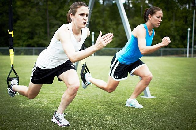 Training With The U.S. Women's Olympic Soccer Team