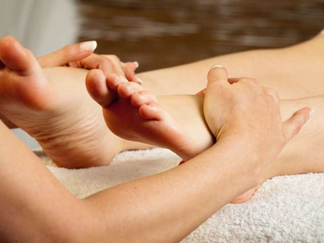 Foot Reflexology for Headaches