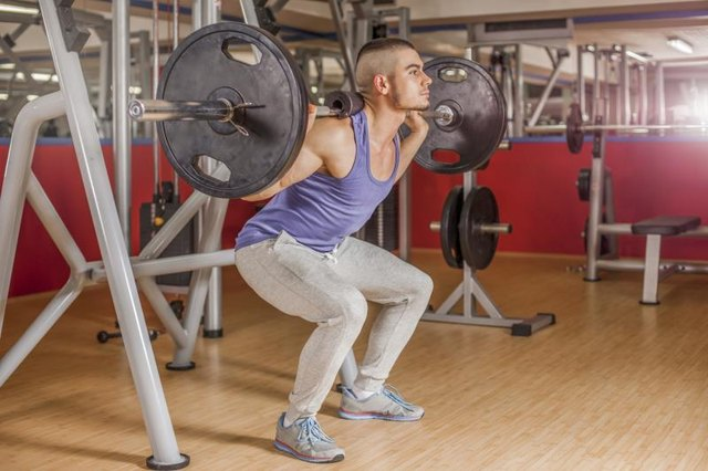 How to Eliminate a Sore Lower Back From Squats