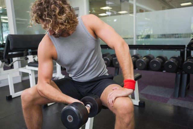 What Is Happening During a Bicep Curl?