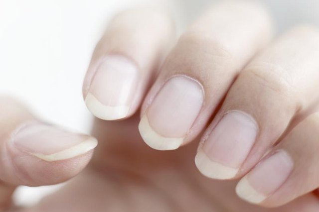 Light pink nails health issues