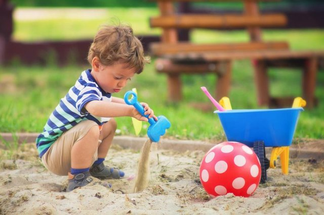 Sand & Water Play for Infants & Toddlers