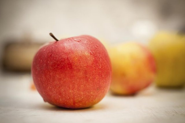 Nutritional Information for a Large Gala Apple