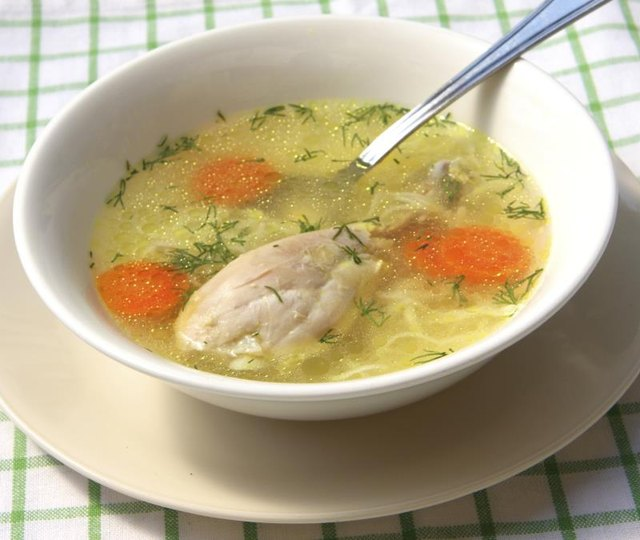 Can You Make Chicken Soup With Legs & Thighs?