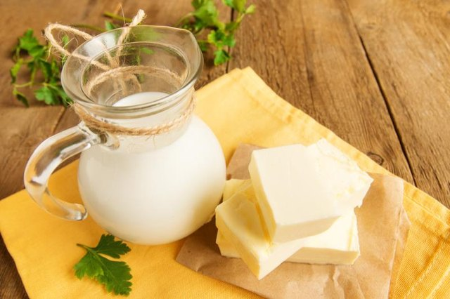 Homemade Skin Cream Using Milk & Butter