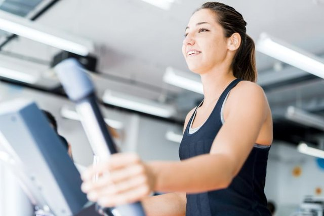 What Muscles Do You Work Out on an Elliptical?