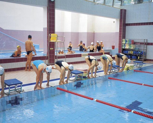 Competitive Swimming and Swim Workouts