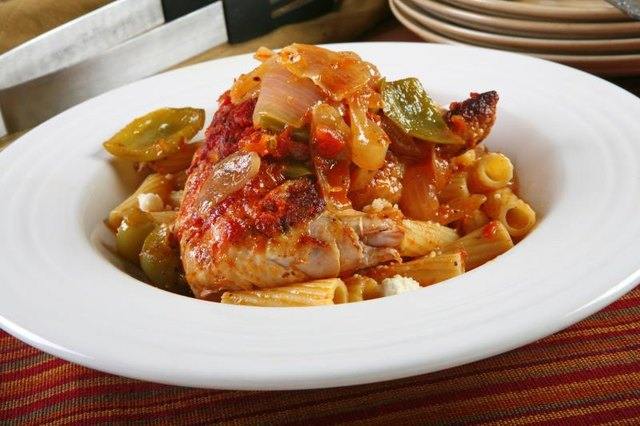 Calories in Chicken Cacciatore