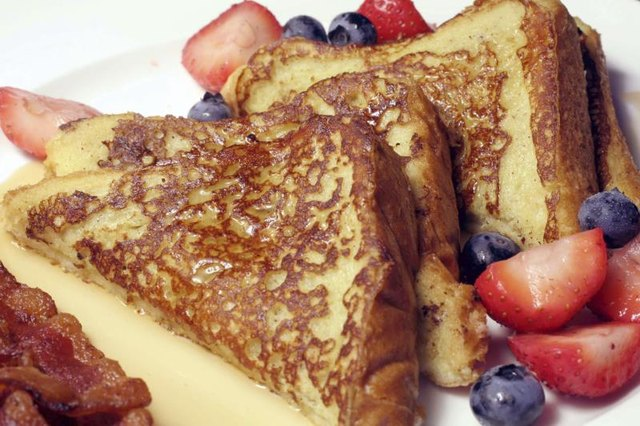 How to Make French Toast With White Bread