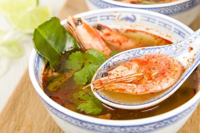 The Calories in Tom Yum Soup