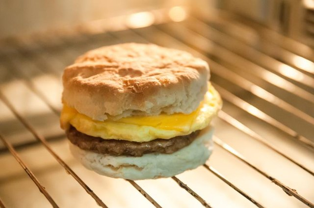 The Calories in a McDonald's Egg Biscuit