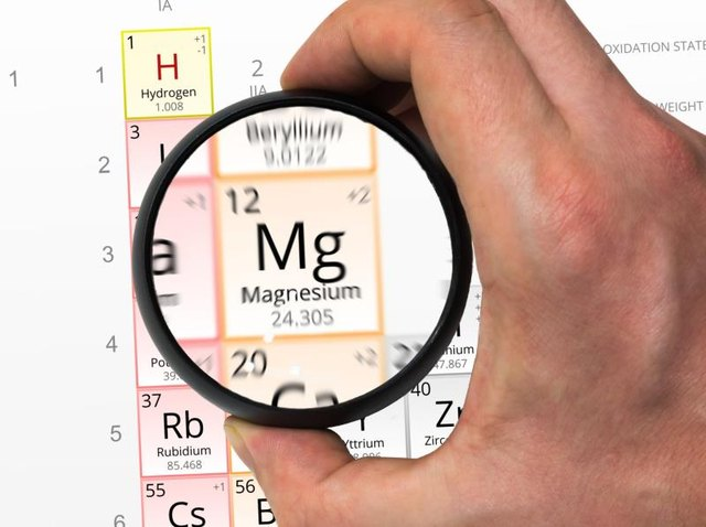 Similarities Between Magnesium, Calcium, Potassium & Sodium