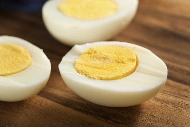 Hard-Boiled Egg-White Nutrition