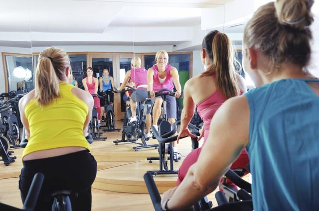 Stationary Bike Triathlon Training