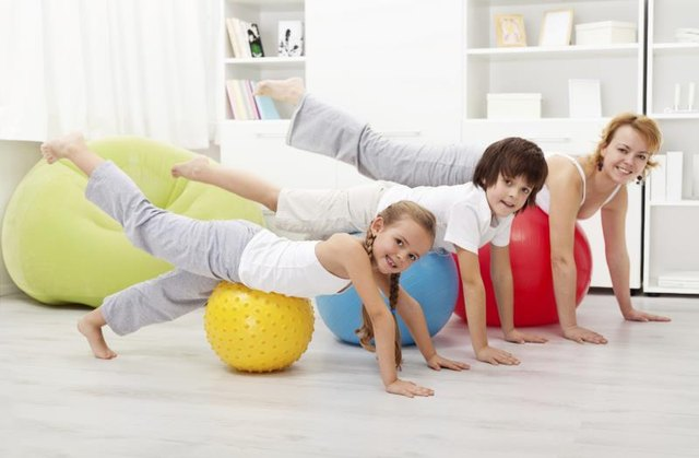 Gym Exercises for Kids