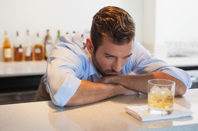the development of a person to become alcoholic There is some evidence to suggest that frustrated ambitions may play a role in the development of an alcohol  upon whether the person will become an alcoholic.