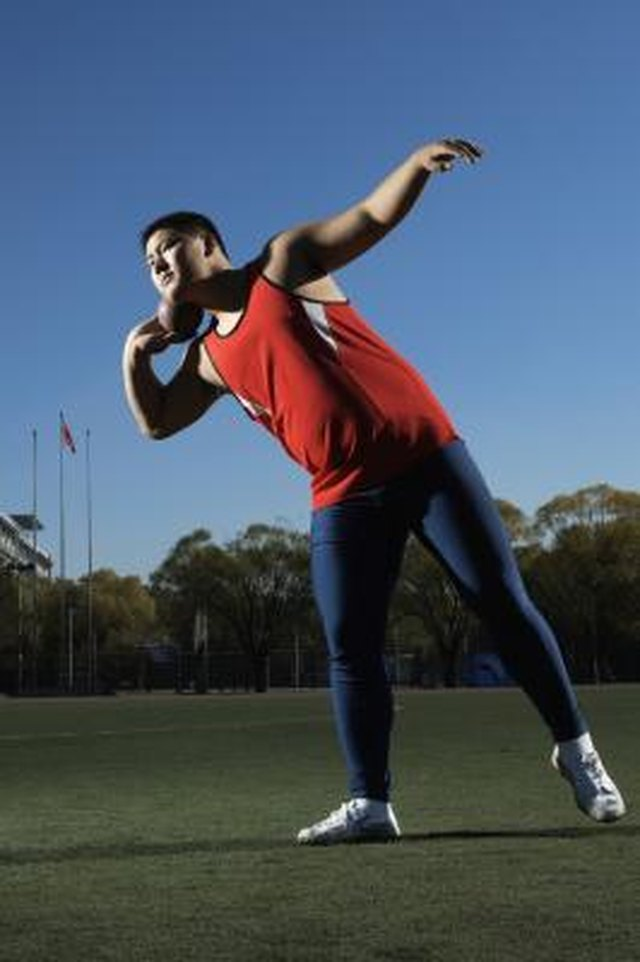 Regulation Shot Put Rules