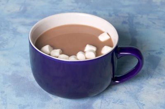 Nutrition Facts for Hot Chocolate Drinks